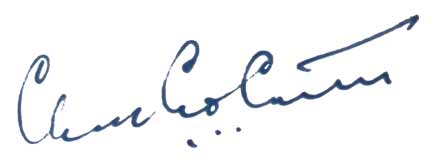 Charles Carter's signature